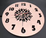 Petal Design Clock - Laser Cut Crafts