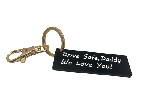 Personalized Acrylic Key-rings - Laser Cut Crafts