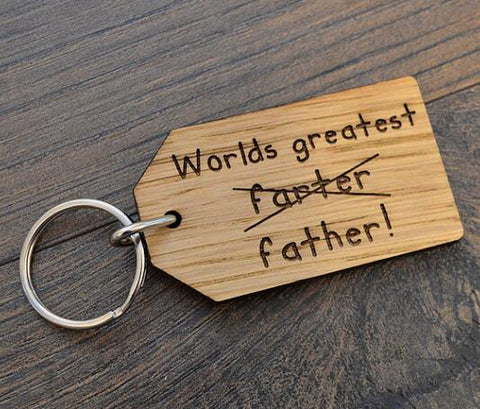 Worlds Greatest Farter Key-ring