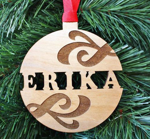 Personalized Christmas Balbaul - Laser Cut Crafts