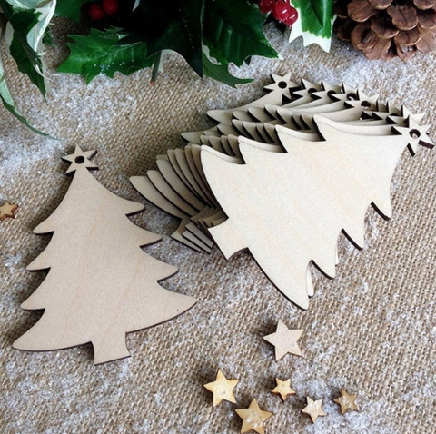Christmas Tree Decoration - Laser Cut Crafts