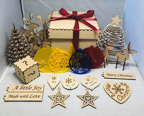 Christmas Mystery Box! - Laser Cut Crafts