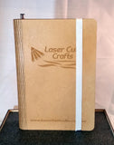 "Personalized ""Living Hinge"" Note Books - Laser Cut Crafts"