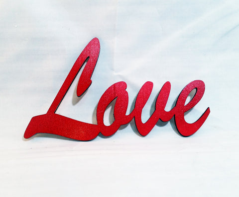 Love - Laser Cut Crafts
