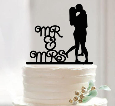 Mr & Mrs Cake Topper - Laser Cut Crafts