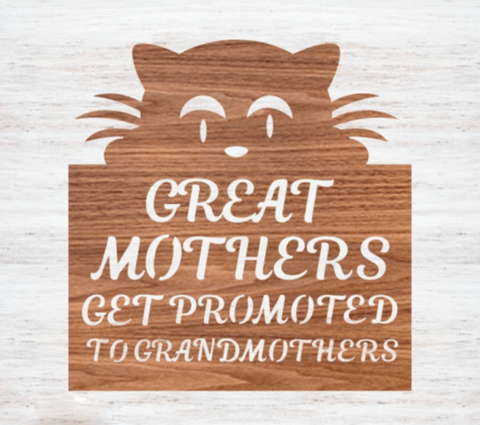 Mothers Day Sign 3 - Laser Cut Crafts