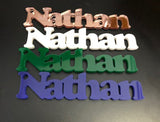 Name Signs - Laser Cut Crafts