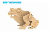 Kids Toon 3D Puzzle Animals - Laser Cut Crafts
