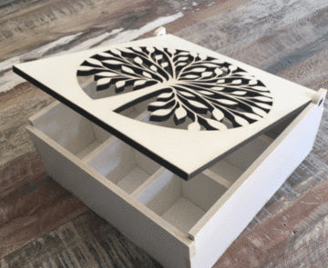 Sorting Box - Laser Cut Crafts
