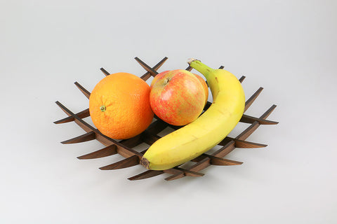 Wooden Fruit Bowl - Laser Cut Crafts