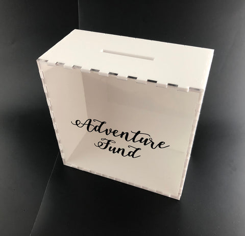 Personalised Money Box - Laser Cut Crafts