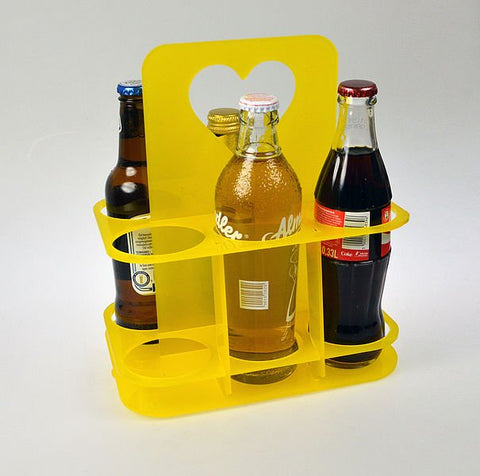 Acrylic Bottle Caddy - Laser Cut Crafts