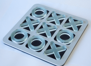 Tic Tac Toe Board - Laser Cut Crafts