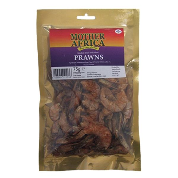 Mother Africa Dried Prawns 75gm spicevillage.eu