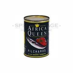 Africa Queen Pilchards in Tomato Sauce 425gms