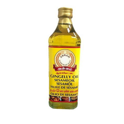 Annam Gingely Oil (Sesam Oil) 375ml Annam