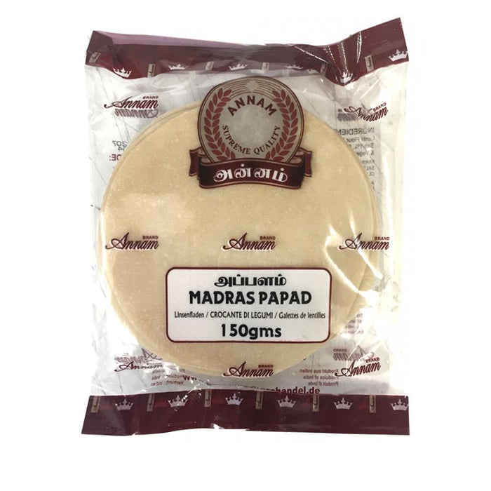 Annam Madras Papad 150gm