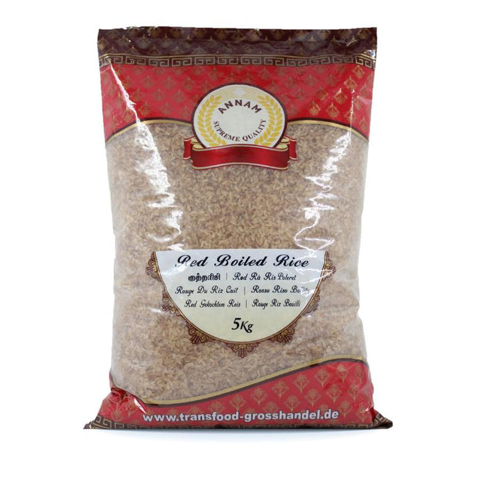 Annam Red Boiled Rice 5kg Annam