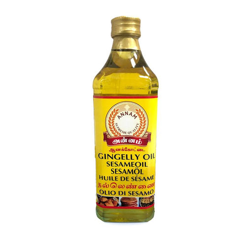 Annam Gingely Oil (Sesame Oil) 750ml Annam