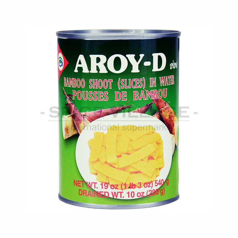 Aroy - D Bamboo Shoot Slices 540 gm