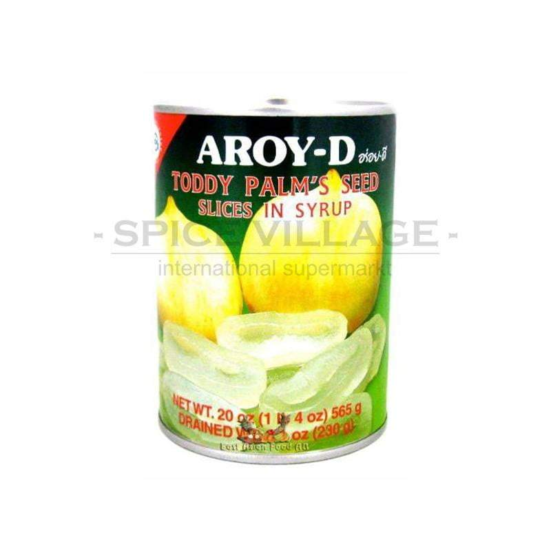 Aroy - D Palm Seed Slices in Syrup 565 gm