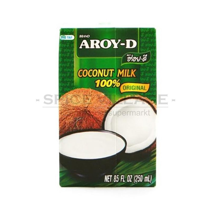 Aroy D Coconut Milk 250ml spicevillage.eu