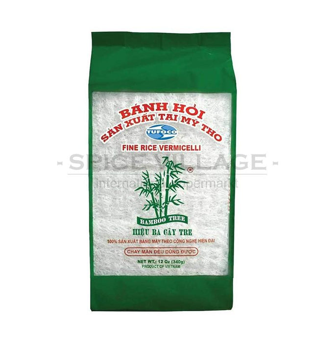 Bamboo Tree Fine Rice Vermicelli 340 gm spicevillage.eu