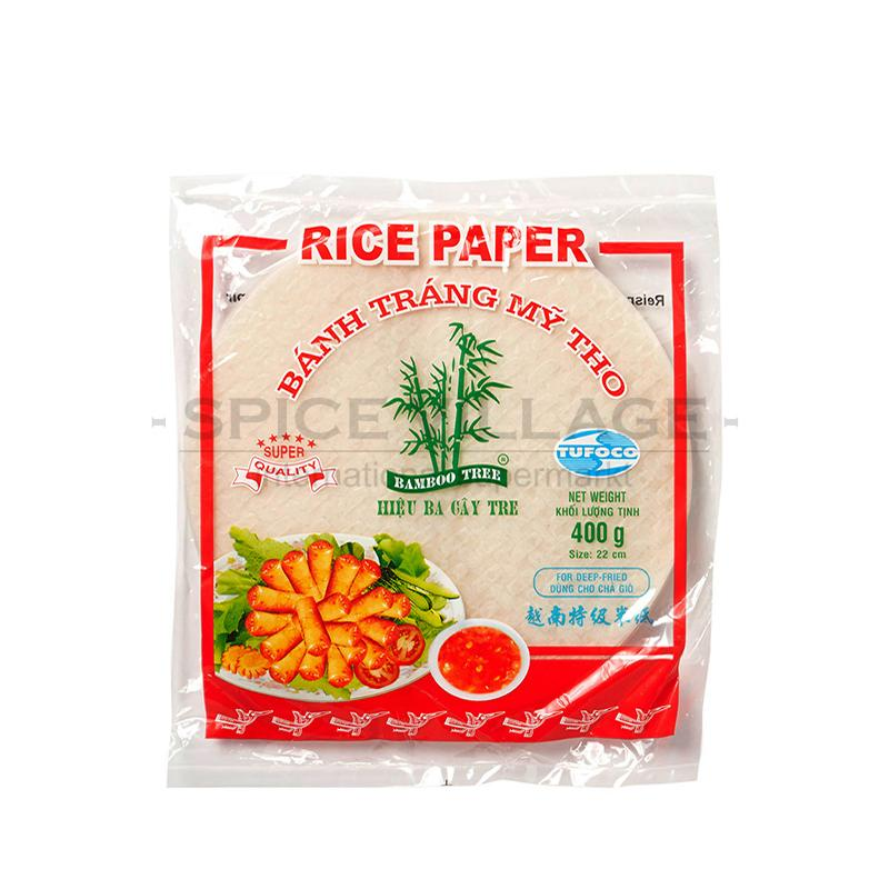 Bamboo Tree Rice Paper 22cm (For Deep Fry) 400gm