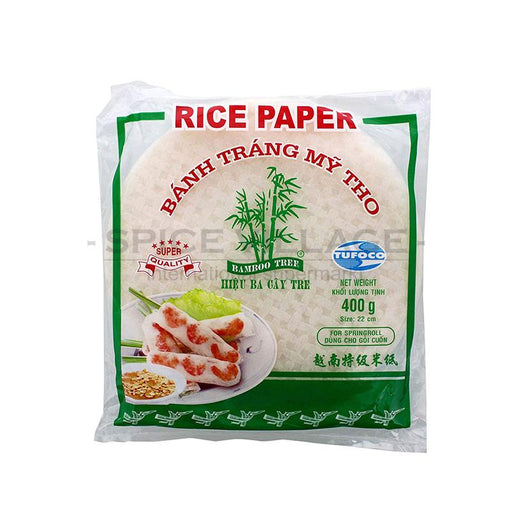 Bamboo Tree Rice Paper 22cm (SpringRoll) 400gm spicevillage.eu