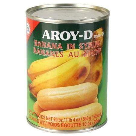 Aroy - D Banana in Syrup 565gm spicevillage.eu