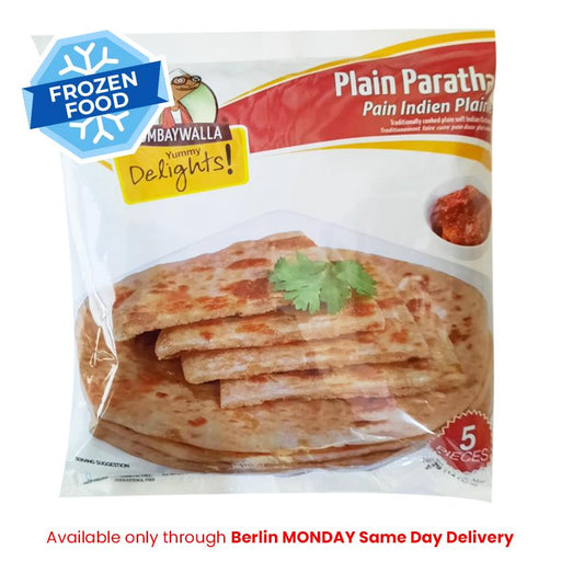 Frozen Bombaywalla Plain Paratha 400gm - Only Monday Berlin Same Day Delivery