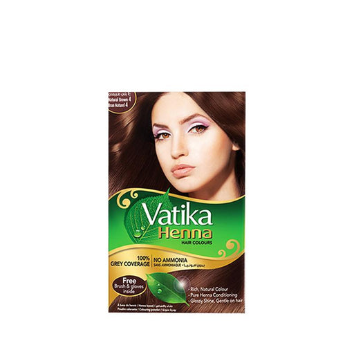 Dabur Vatika Heena Natural Brown 60gm