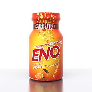 Eno Fruit Salt Orange Flavour 100gr
