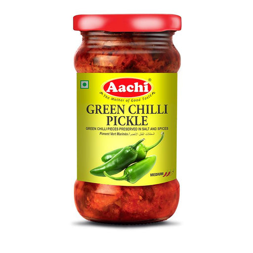 Aachi Green Chilli Pickle 300gm