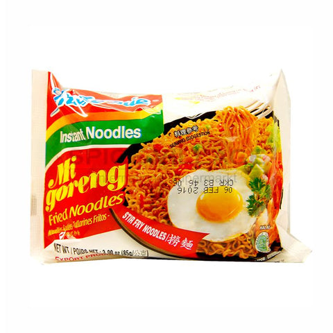 Indomie Mi Goreng Fried Instant Noodles 80gm