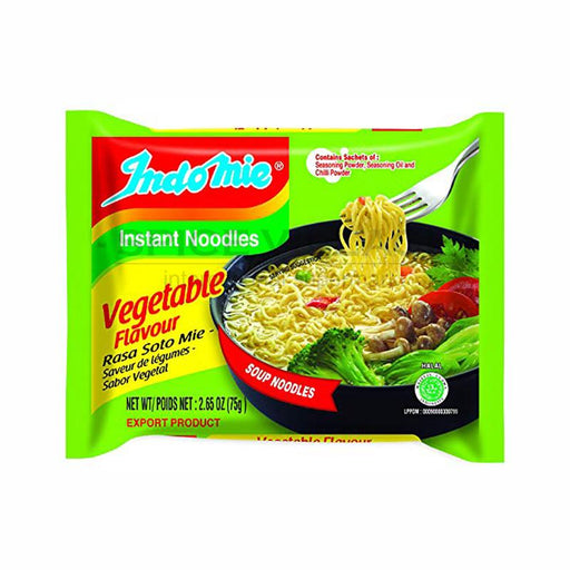 Indomie Vegetable Instant Noodles 75gm Indomie