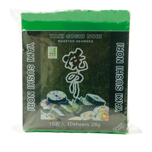 JH Foods Roasted Seaweed for Sushi (Green) 28gm