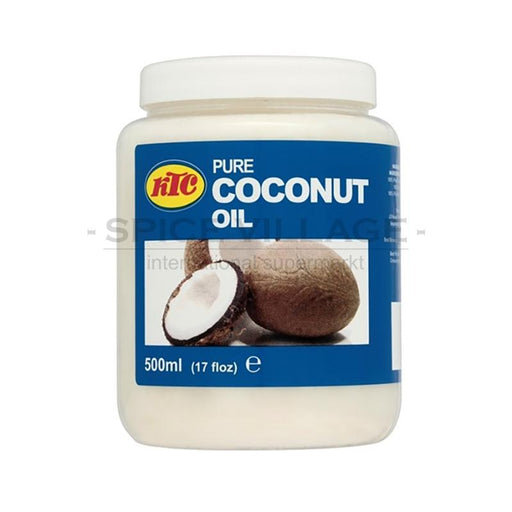 KTC Coconut Oil 500ml spicevillage.eu