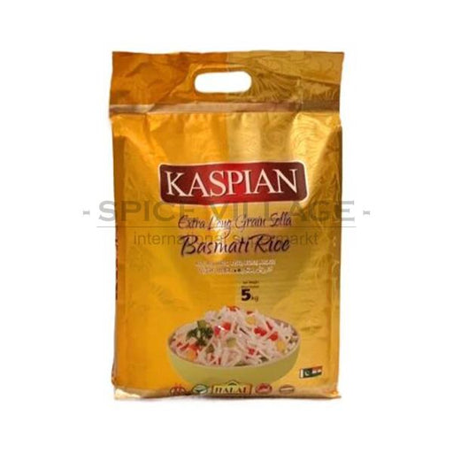 Kaspian Extra Long Sella Basmati Rice 5kg CFT