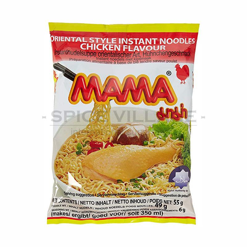 Mama Chicken Instant Noodles 55g