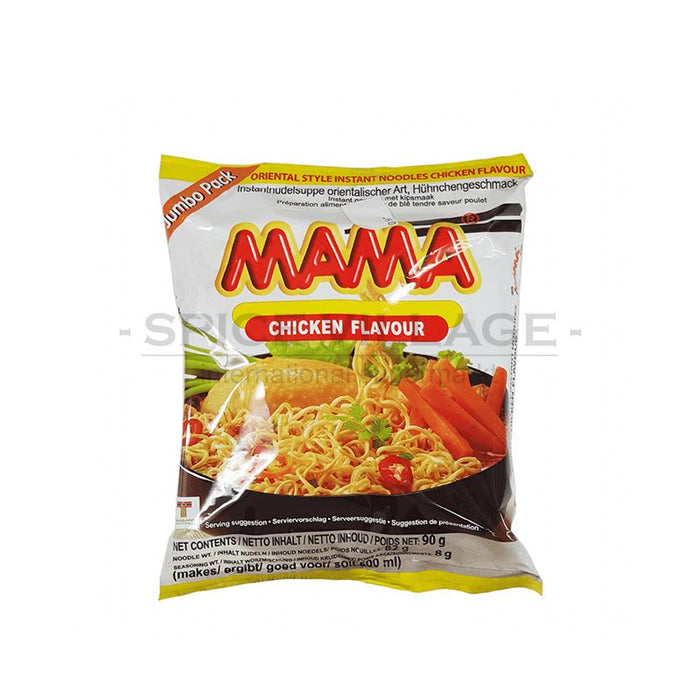 Mama Oriental Style Chicken Flavour Jumbo Pack 90 Mama