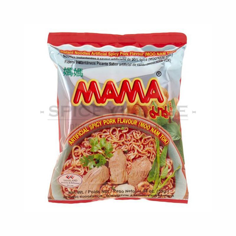 Mama Spicy Pork Instant Noodles 60gm