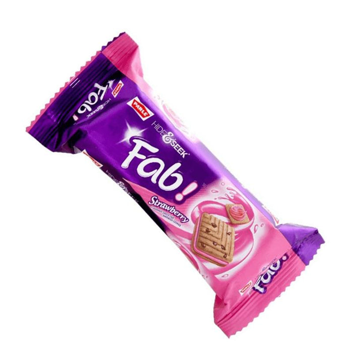Parle Hide and Seek Fab Strawberry 112gm