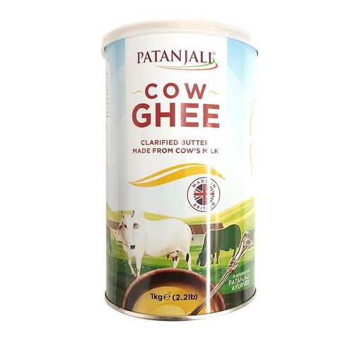 Patanjali Ghee (Butter Oil)  Can 1Kg