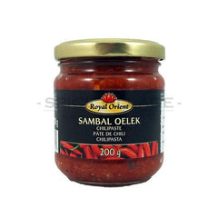 Royal Orient Sambal Oelek (Chilli Paste) 200 gm