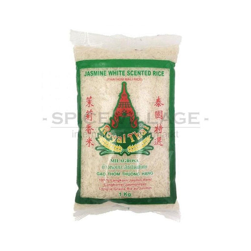 Royal Thai Jasmine White Scented Rice 1kg spicevillage.eu
