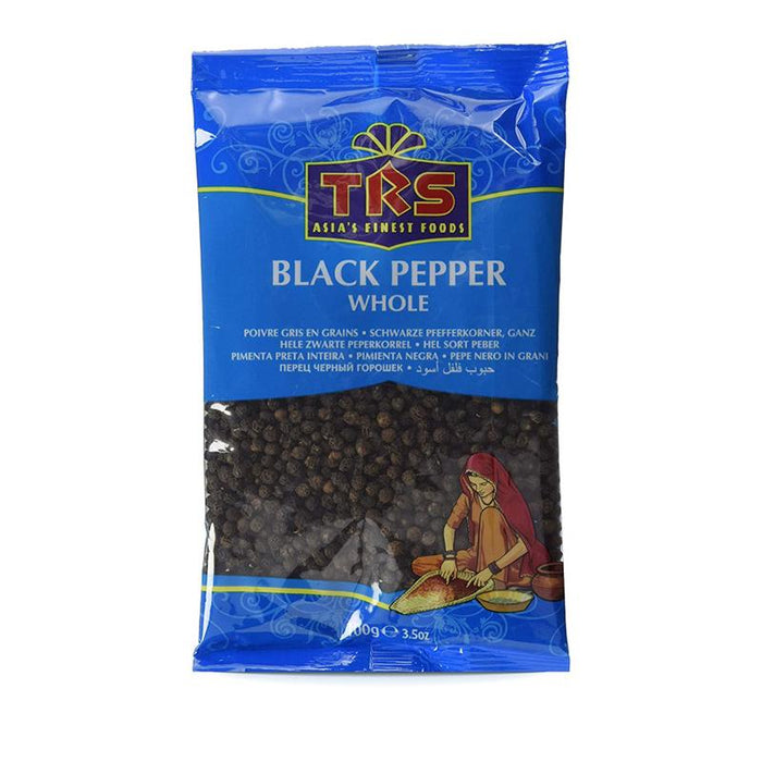 TRS Black Pepper Whole 100gm