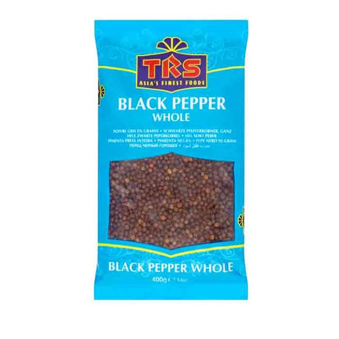 TRS Black Pepper Whole 400gm