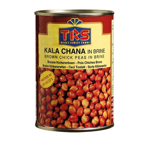 TRS Canned Boiled Kala Chana (Brown Chick peas) 400gm TRS
