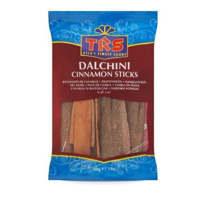 TRS Dalchini Whole (Cinnamon Sticks) 50gm TRS